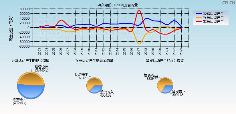 浔兴股份(002098)(浔兴股份)现金流量表分析图